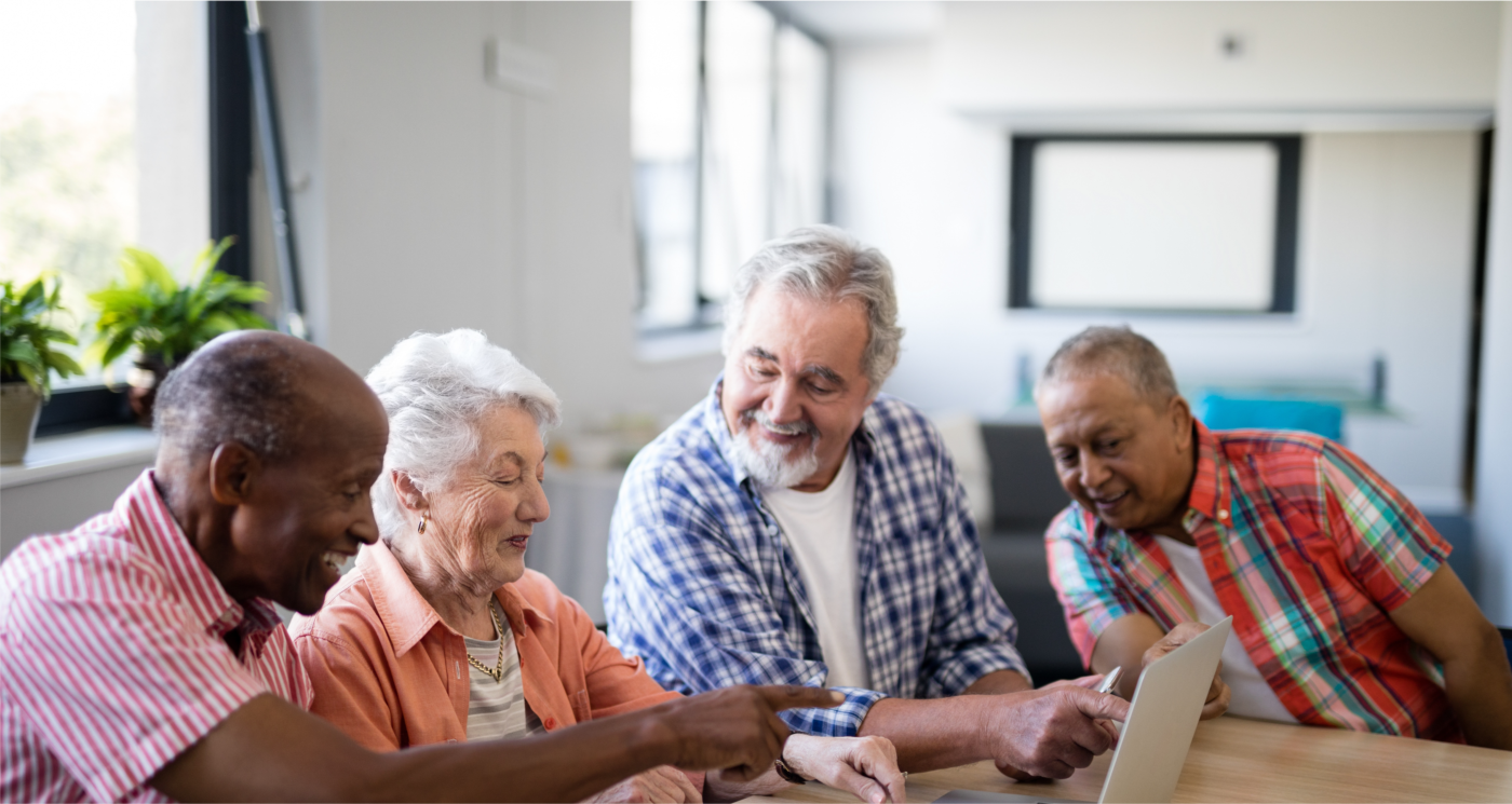 Seniors are using digital devices more and more within the healthcare setting for entertainment, to research and obtain more information about their hospitalization, and use social media to stay connected with loved ones.