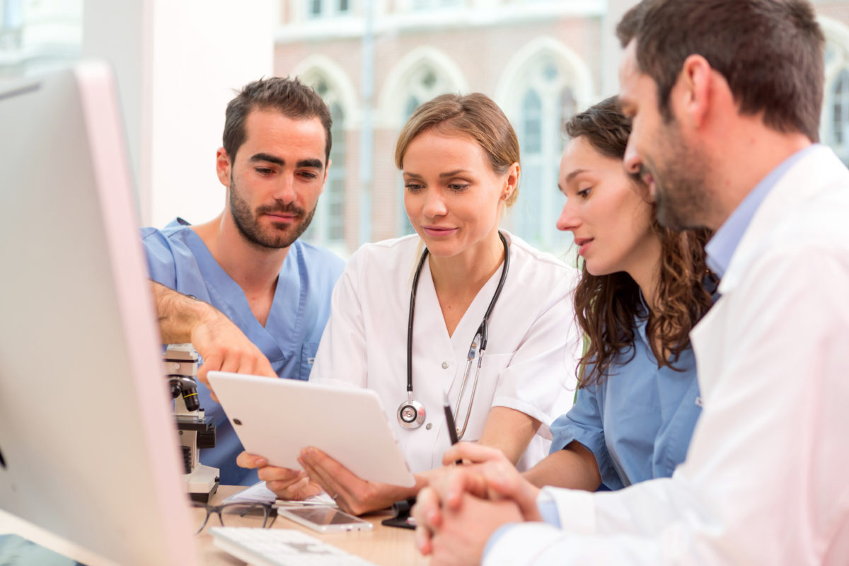 Care Teams can easily collaborate on quality initiatives for patient satisfaction with MediaCare and the full range of HCI enterprise touchscreen patient and hospital workflow devices.