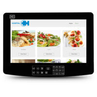 HCI, bedside meal, patient meal, android media apps, retail apps, hospital cafeteria, interactive whiteboard, electronic whiteboard, digital whiteboard, patient whiteboard, hospital whiteboard, patient satisfaction, service, recovery, patient apps, clinical burnout