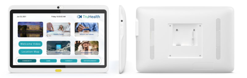 Integrated technologies offer patients a full range of care information and entertainment options for health education, entertainment options and discharge planning.