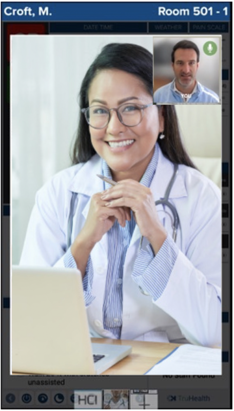Telemedicine in hospitals, HCI, choice, telemedicine module, interactive whiteboard, digital whiteboard, hospital whiteboard, HCI whiteboard, nurse whiteboard, telemedicine, patient education, patient monitoring, patient engagement