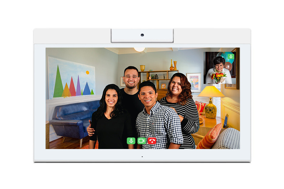 Family & Friends Connect brings patients and their loved ones closer through video connection on our interactive devices.