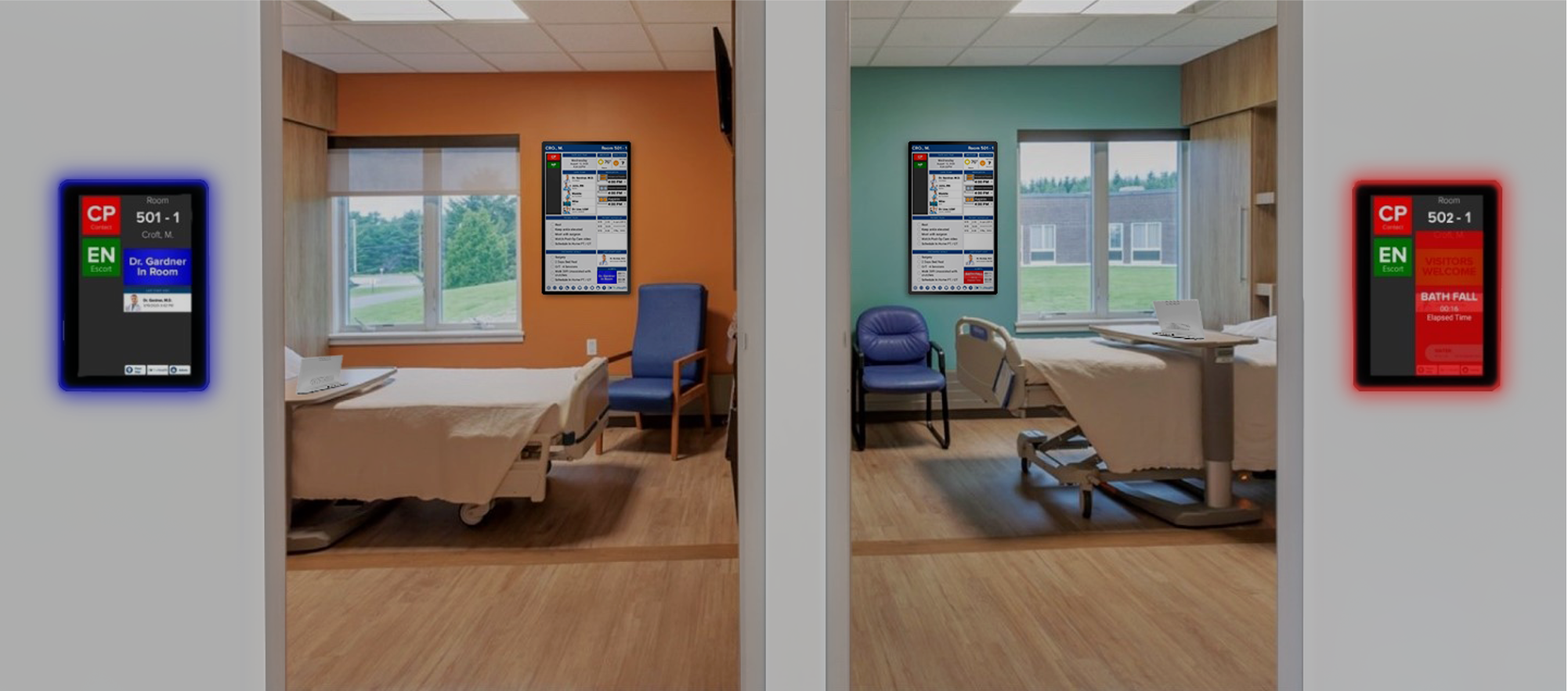 HCI Interactive Patient Care for Patient Education, Patient Entertainment and Patient Engagement. Optimizing healthcare workflows through real-time interactive hospital whiteboard displays integrated across the hospital enterprise.