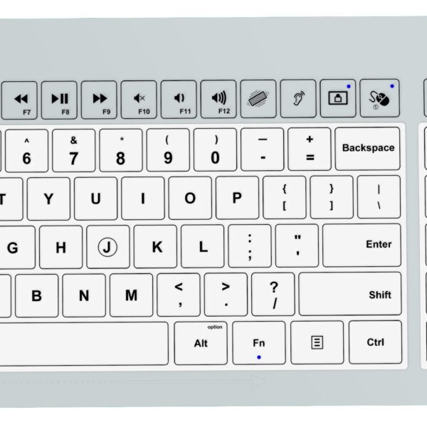 HCI Health-Key Keyboards support infection prevention with unique features not offered by other manufacturers. Hospital keyboard, patient keyboard, research keyboard, infection control keyboard