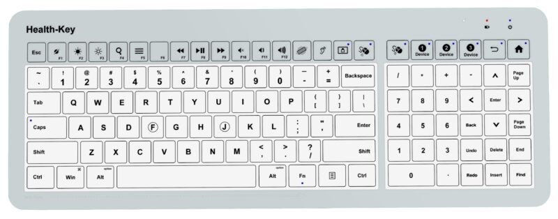 HCI Health-Key Keyboards support infection prevention with unique features not offered by other manufacturers.