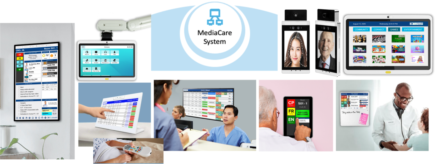 HCI Interactive Patient Care solutions encompass a range of touch-enabled, digital whiteboards, tablets and patients TVs designed for infection control and with the aim of improving patient engagement. With enterprise integration, providers can realize improved workflow, higher staff satisfaction and lower operating costs.