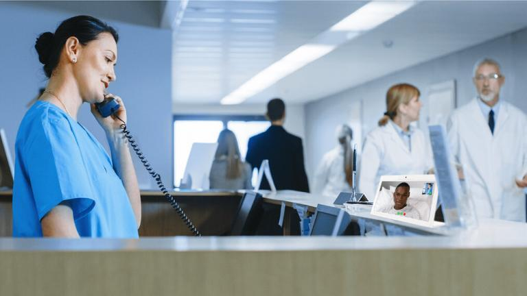 HCI Nurse Call Companion is an app that allocates resources and hospital personnel via video for patient requests.