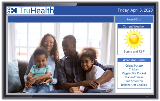HCI Family & Friends Connect video allows patients to videoconference with groups from multiple locations.