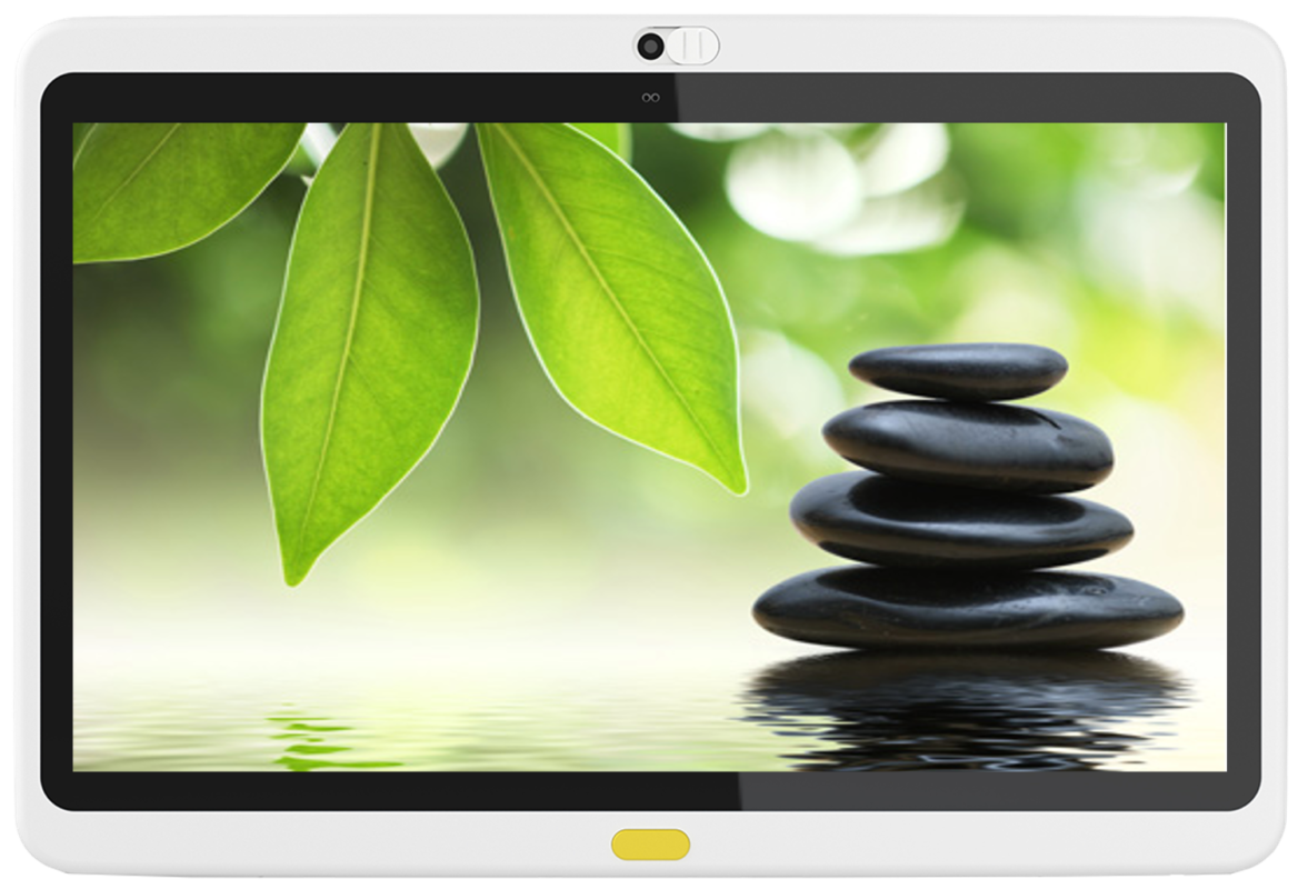 HCI offers a range of soothing relaxation and mindfulness content for patients.