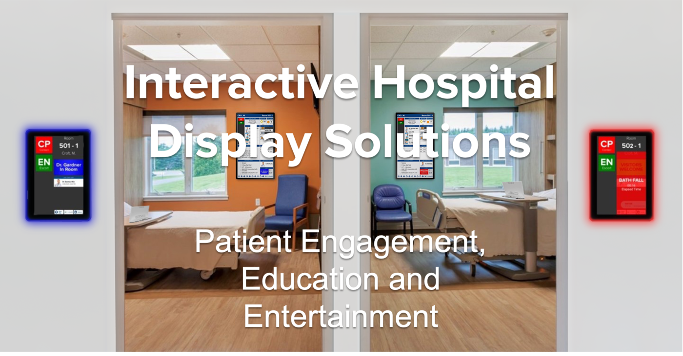HCI offers interactive patient care for patient engagement, patient education and patient entertainment. We aggregate data from disparate hospital systems, process it, present it and touch-enable it in real time.