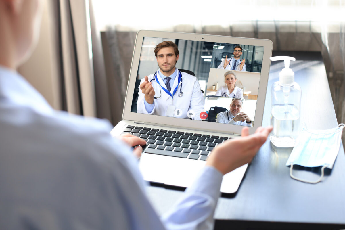 Internal and External telemedicine apps from HCI encourage collaboration and aligned clinical communication for CDS.
